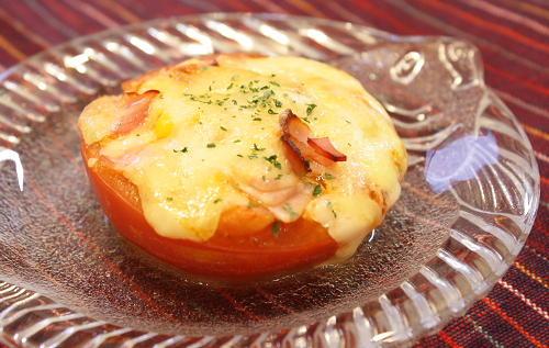 丸ごとトマトのピリ辛焼きレシピ