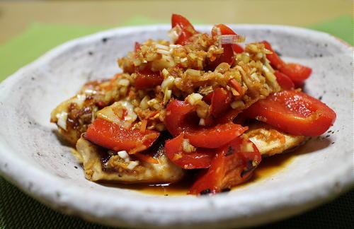 今日のキムチレシピ:メカジキのキムチ甘酢がらめ