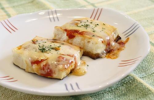 豆腐のキムチピザレシピ