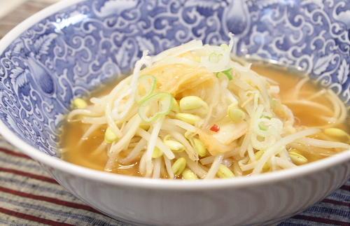 今日のキムチ料理レシピ:キムチにゅうめん
