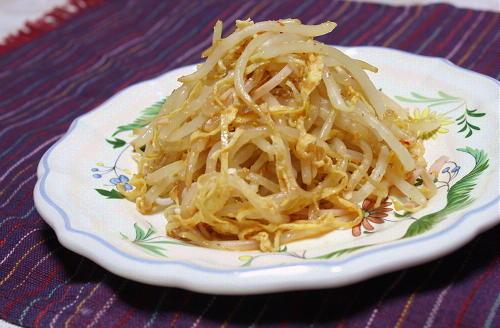 今日のキムチ料理レシピ:もやしのピリ辛サラダ