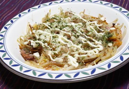 今日のキムチ料理レシピ:もやしとキムチの巣ごもり