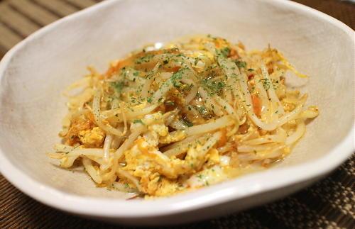 今日のキムチ料理レシピ:もやしキムチ卵のあんかけ