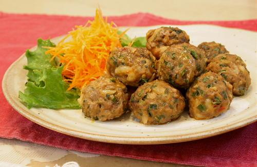 今日のキムチ料理レシピ:キムチの蒸団子
