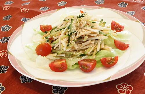 長芋のピリ辛中華サラダレシピ