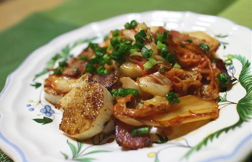 今日のキムチ料理レシピ:長いものキムチチーズ焼き