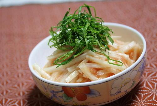 今日のキムチ料理レシピ:長芋のピリ辛たらこ和え