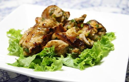 今日のキムチ料理レシピ:味噌ねぎキムチの豚肉巻き