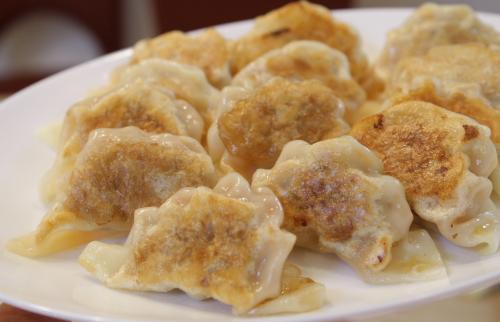 ピリ辛肉餃子レシピ