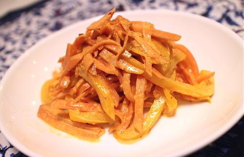 今日のキムチ料理レシピ:ニンジンとパプリカのキムチカレーマヨ和え