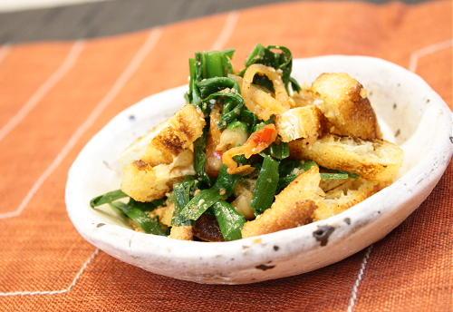 今日のキムチ料理レシピ:ニラのキムチ和え