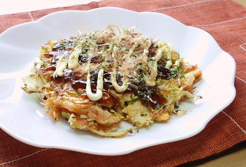 今日のキムチ料理レシピ:お好み焼き風キムチの卵焼き