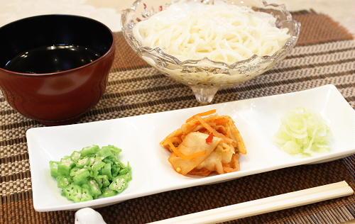 今日のキムチ料理レシピ:キムチ素麺