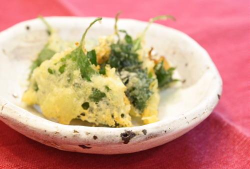 今日のキムチ料理レシピ:キムチの大葉揚げ