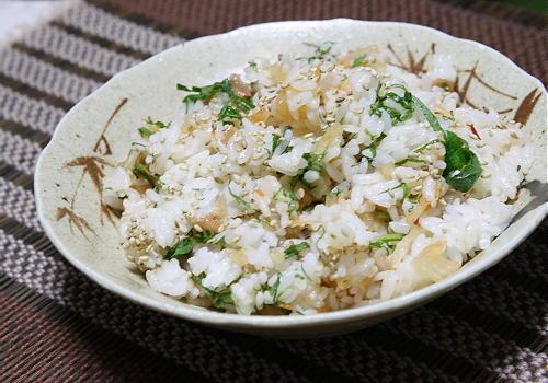 今日のキムチ料理レシピ:梅キムチご飯