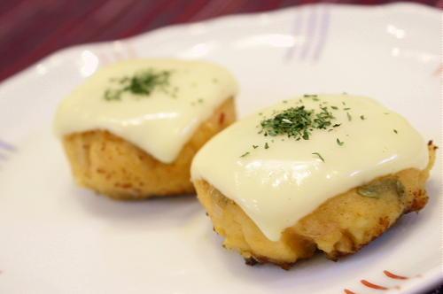 ポテトとキムチのチーズ焼き
