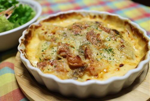 今日のキムチレシピ:ポテトキムチグラタン