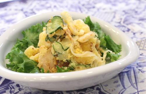 今日のキムチ料理レシピ:キムチポテトサラダ