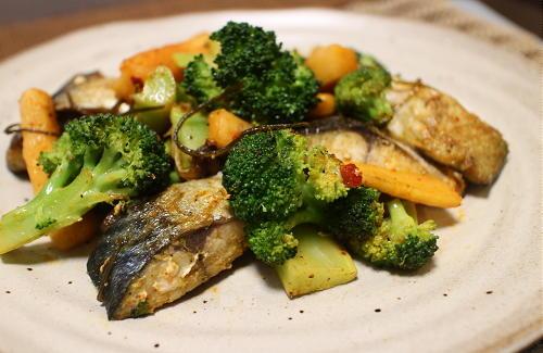 サバと大根キムチのカレー炒めレシピ