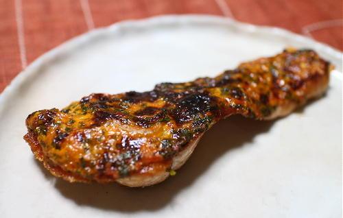 今日のキムチ料理レシピ:鮭のキムチマヨ焼き