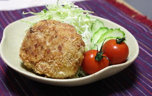 今日のキムチ料理レシピ:里芋キムチコロッケ