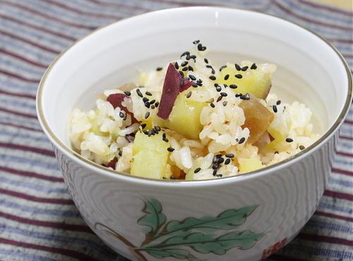 さつまいもと大根キムチの炊き込みご飯レシピ