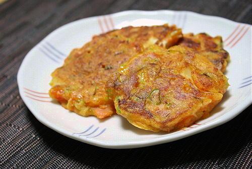 今日のキムチ料理レシピ:鮭とキムチの香味焼き