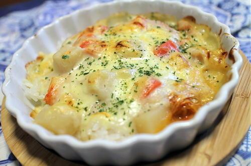 今日のキムチレシピ:シチューキムチドリア