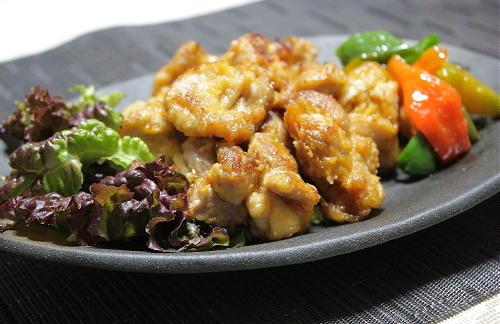 今日のキムチ料理レシピ: シンプル揚げ鶏