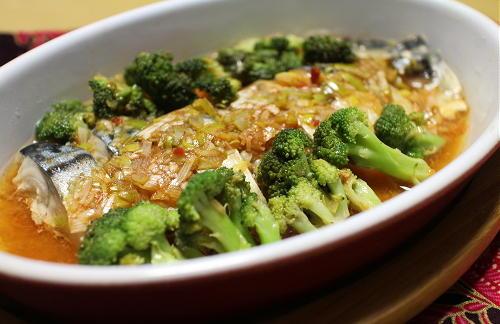今日のキムチ料理レシピ:塩サバのピリ辛ねぎだれ