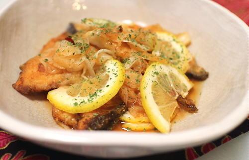 今日のキムチ料理レシピ:塩鮭のキムチマリネ