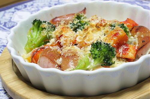 ソーセージと大根キムチのマヨチーズ焼きレシピ