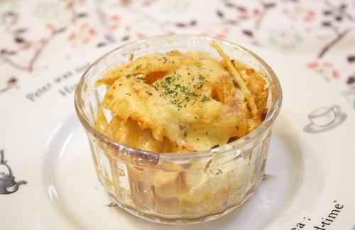 今日のキムチ料理レシピ:たけのこの和風キムチチーズ焼き