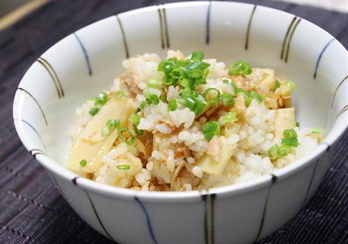 今日のキムチ料理レシピ:たけのこキムチご飯