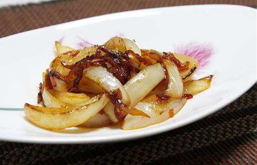 玉ねぎの甘辛炒めレシピ