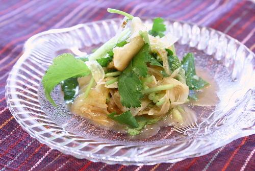 今日のキムチ料理レシピ:たまねぎのキムチ和え