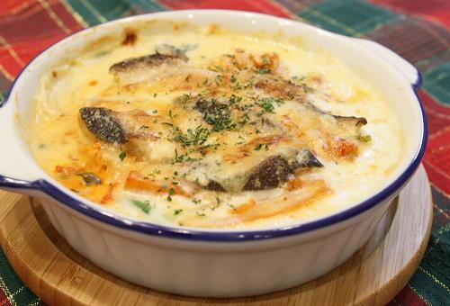 今日のキムチ料理レシピ:たらとキムチのマッシュポテトグラタン