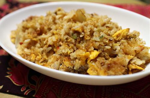 今日のキムチ料理レシピ:たらこキムチチャーハン