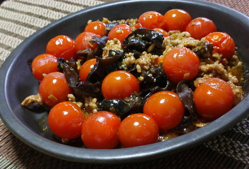 今日のキムチ料理レシピ: トマト麻婆