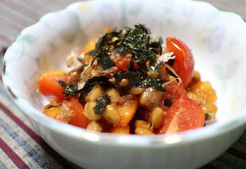 今日のキムチレシピ:大根キムチ納豆
