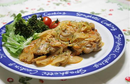 今日のキムチ料理レシピ:鶏肉のキムチクリーム