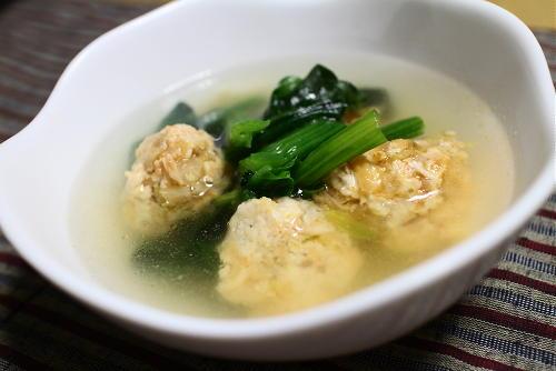今日のキムチレシピ:キムチ鶏団子スープ