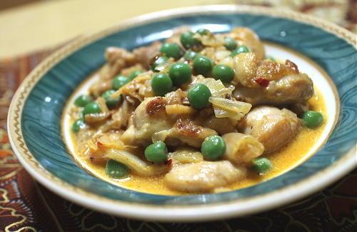 今日のキムチレシピ:鶏肉とキムチのスープ煮