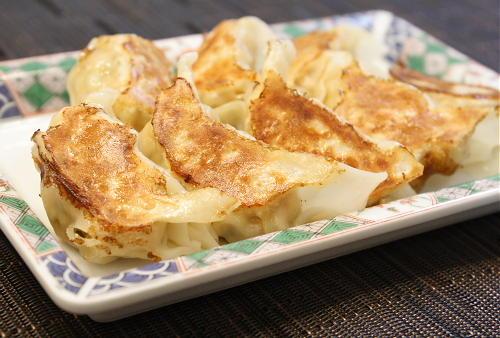 今日のキムチ料理レシピ:鶏ひき肉とキムチのさっぱり餃子