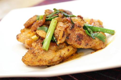 鶏肉のキムマヨ炒めレシピ