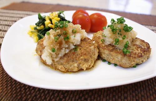 今日のキムチ料理レシピ:豆腐とキムチのハンバーグ