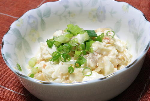 今日のキムチ料理レシピ:豆腐のごま酢キムチ和え