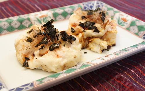 豆腐のキムチとろろ焼きレシピ