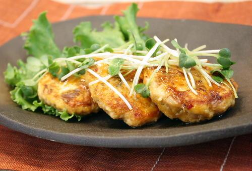 今日のキムチ料理レシピ:豆腐入りキムチつくね
