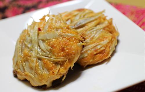 今日のキムチ料理レシピ:ピリ辛ごぼうつくね